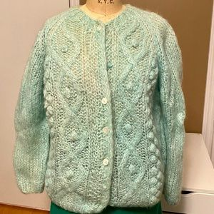 Vintage Mary Lewis hand knit sweater Made in Italy